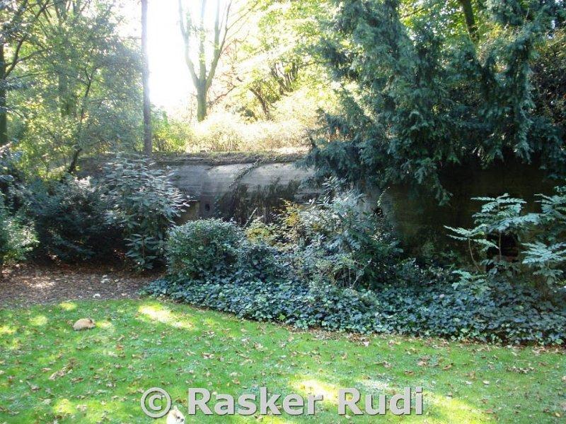 Bunkers Stadspark Antwerpen